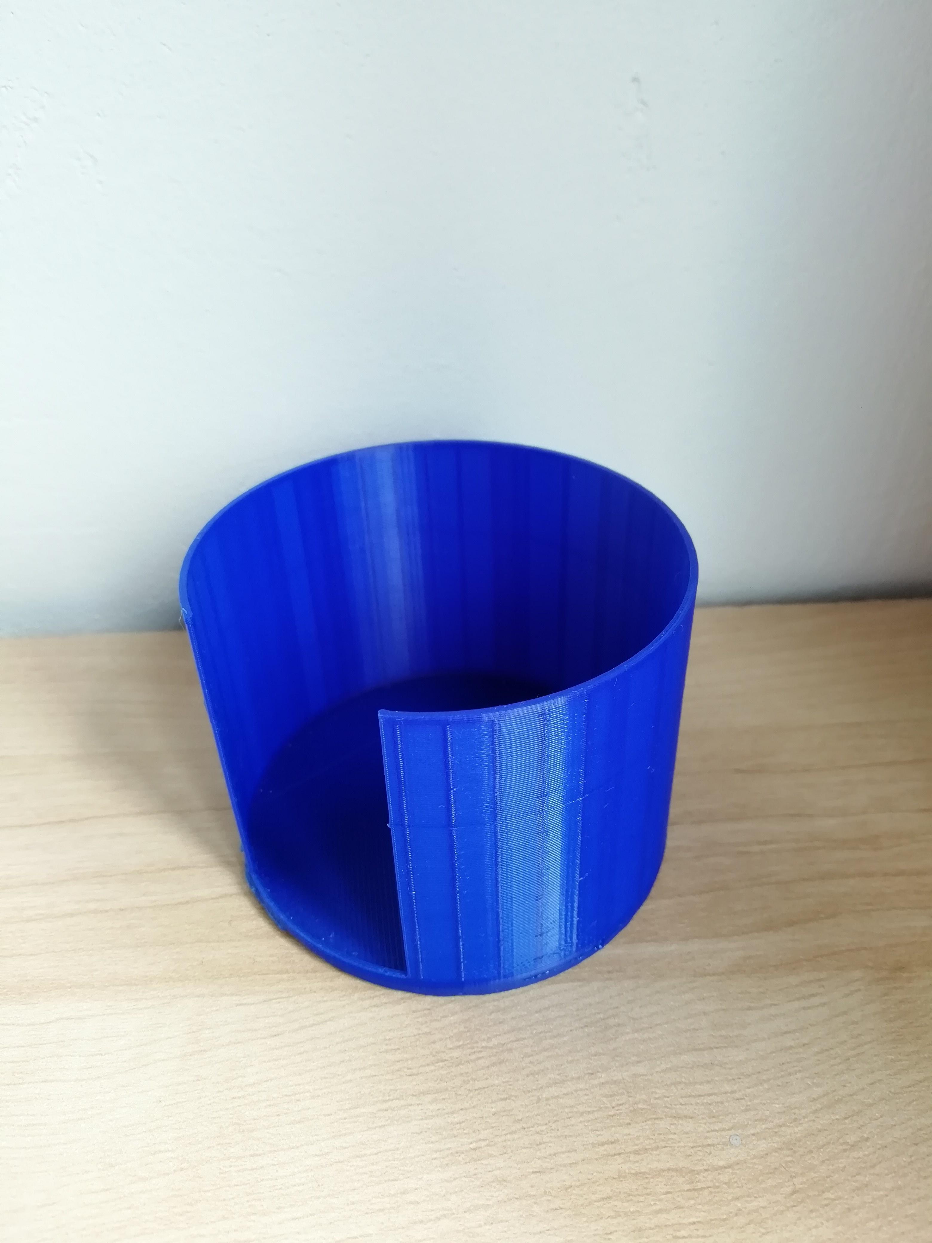 cotton pad holder_01.jpg Download STL file Cotton pad holder • 3D printing model, eAgent