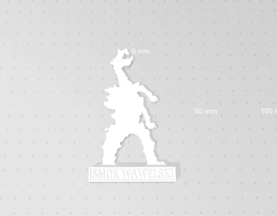 smok_02.png Download STL file Smok Wawelski • 3D printer model, eAgent