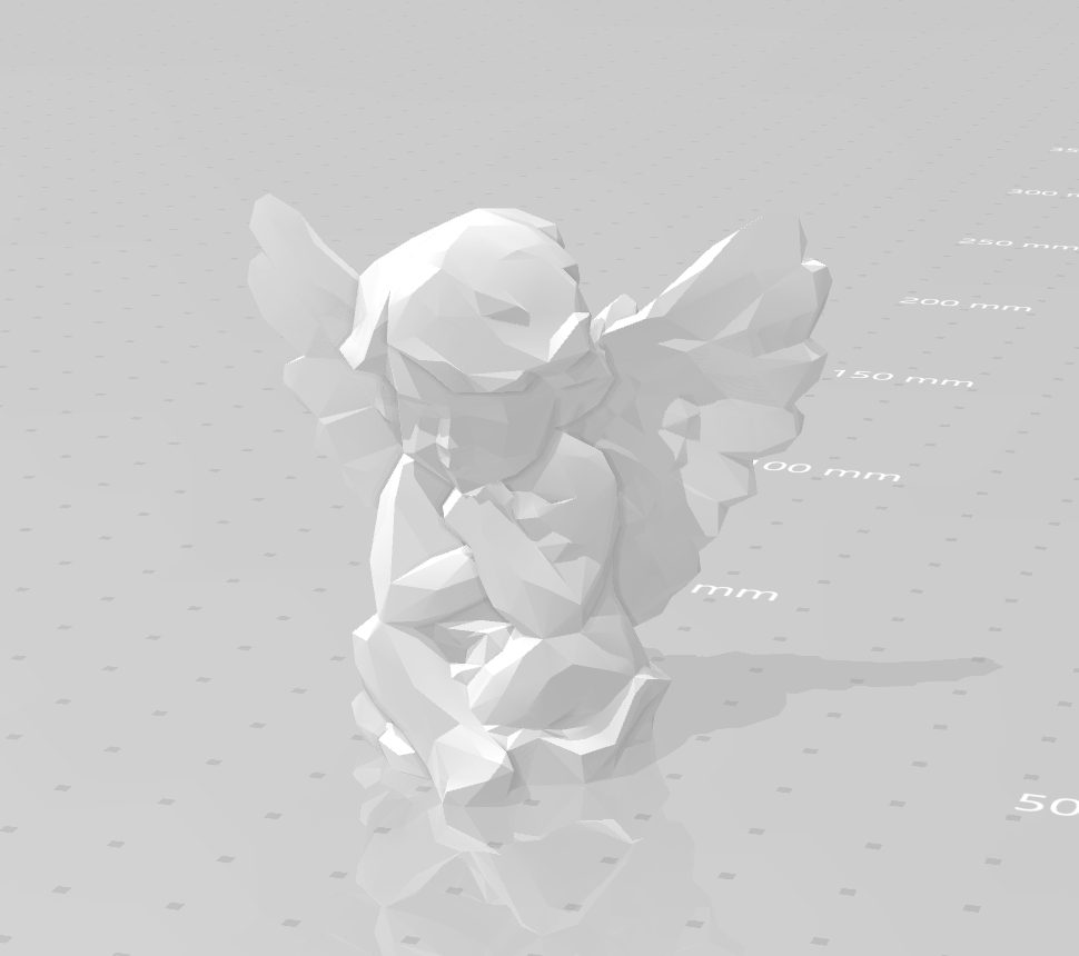 Angel design.png Download STL file Low poly Angel • Design to 3D print, eAgent