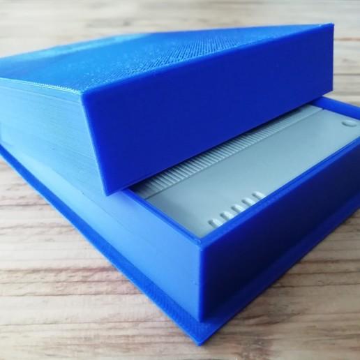 IMG_20200708_164241.jpg Download STL file SNES game cartridge holder • 3D printer design, eAgent