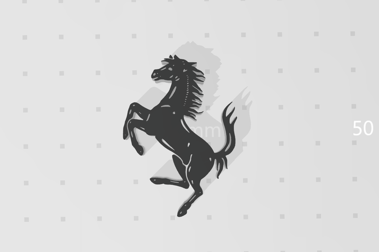 horse_01.png Download STL file Prancing horse • 3D print object, eAgent