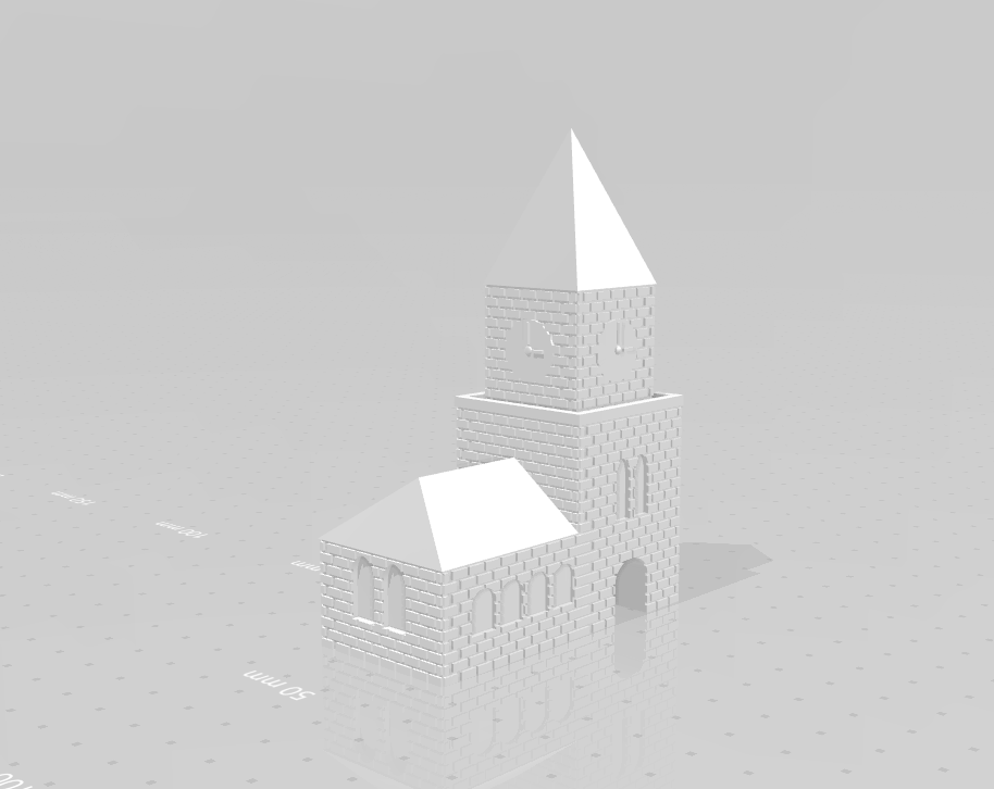 kerk_02.png Download STL file Church • 3D print design, eAgent