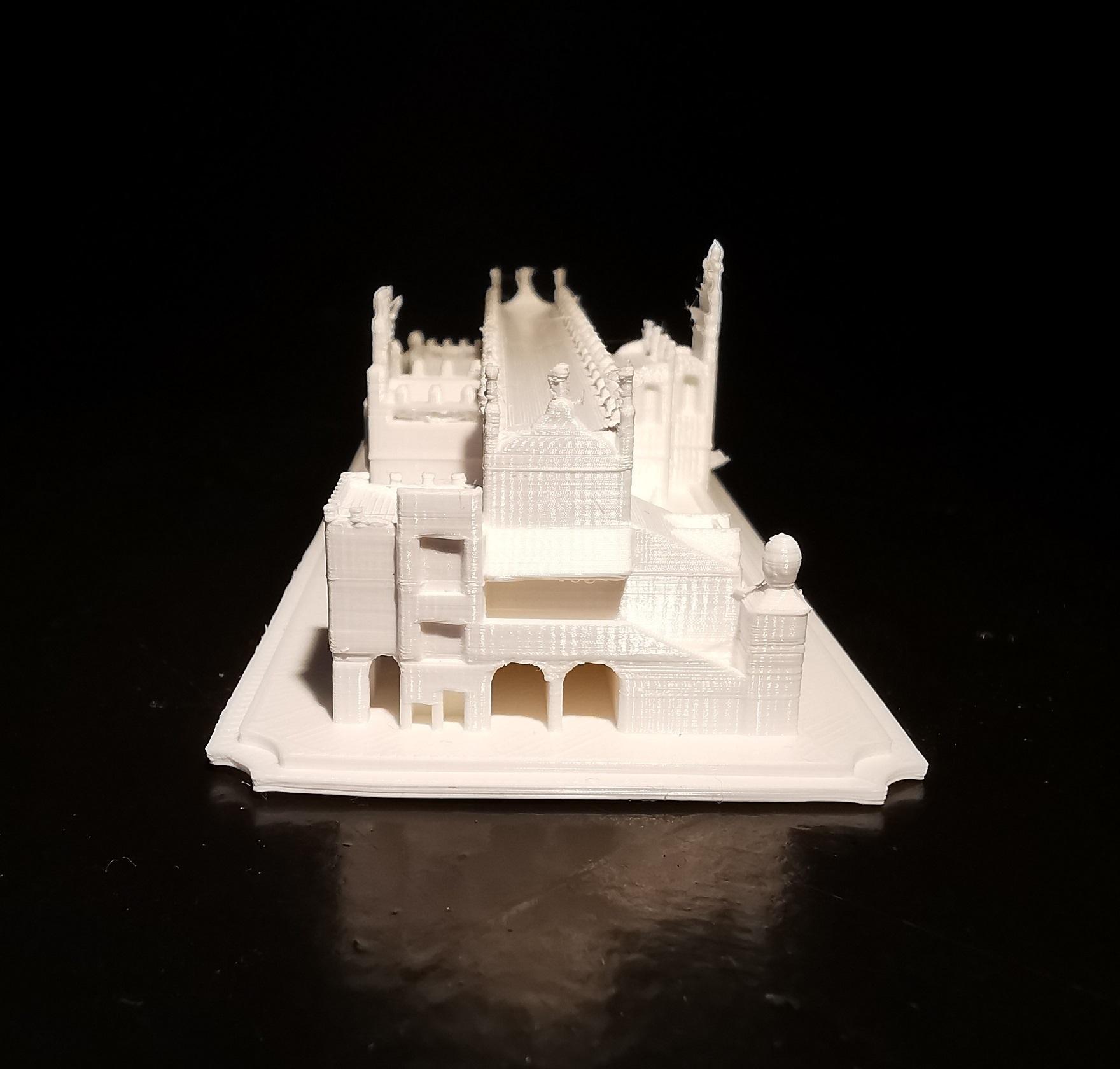 Sukiennice_03.jpg Download STL file Sukiennice - Kraków Cloth Hall • 3D printable design, eAgent