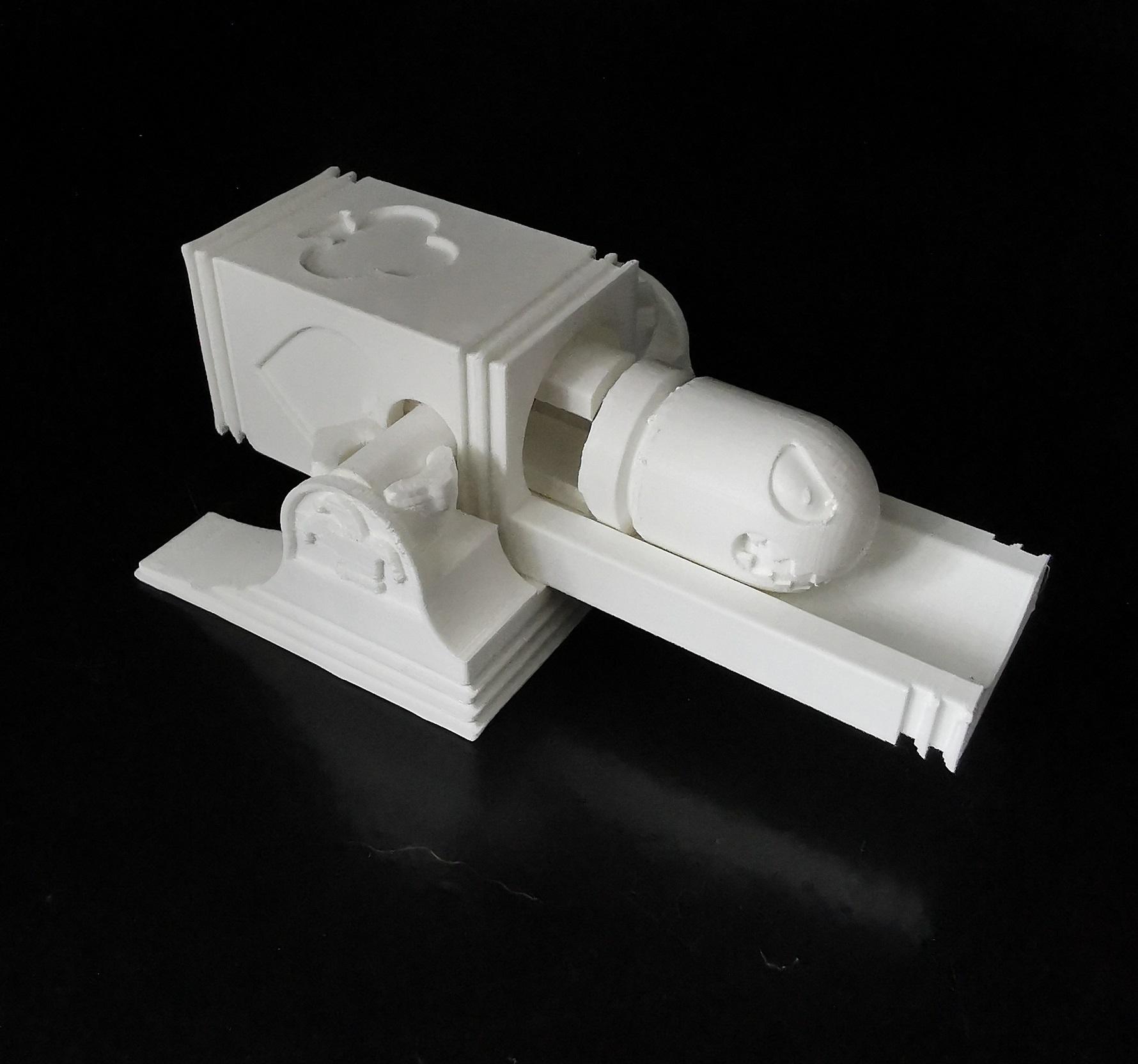 bullet_02.jpg Download STL file Bullet Bill launching platform • 3D printer model, eAgent