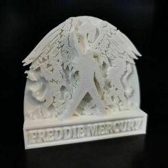 freddie_01.jpg Download free STL file Freddie Mercury statue • 3D print model, eAgent