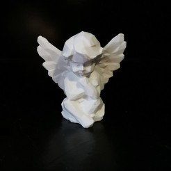 angel_01.jpg Download STL file Low poly Angel • Design to 3D print, eAgent