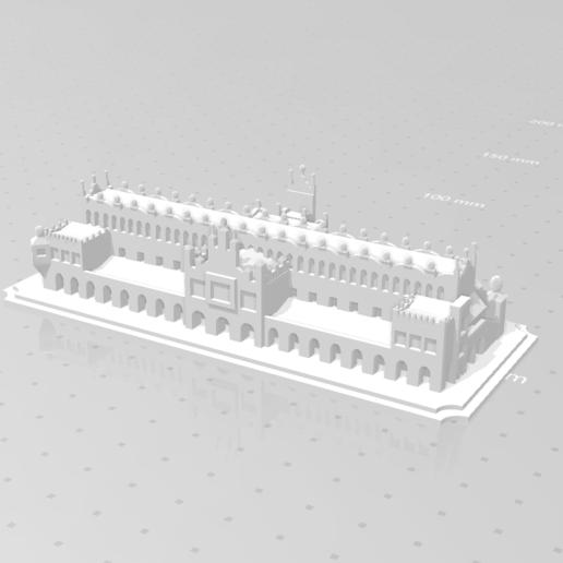 Sukiennice ontwerp.png Download STL file Sukiennice - Kraków Cloth Hall • 3D printable design, eAgent