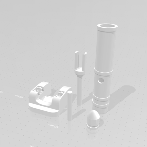 tank_upgrade_ontwerp.png Download STL file Upgrade set cannon for moving tank • Template to 3D print, eAgent
