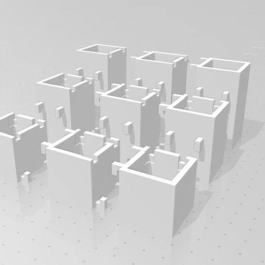 cubes_02.png Download STL file Make-up organizer • 3D print design, eAgent