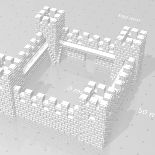 castle_02.png Download STL file Castle • Model to 3D print, eAgent
