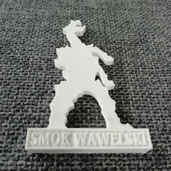 IMG_20200725_121114.jpg Download STL file Smok Wawelski • 3D printer model, eAgent