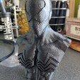 Télécharger fichier STL gratuit Buste d'un Spiderman venimeux • Design pour imprimante 3D, jatest1979