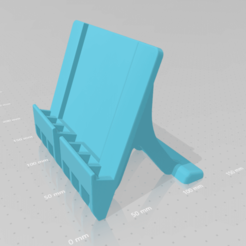 Download free STL file Mobile_Phone_Stand_001 • 3D printing model, Mashed_3D