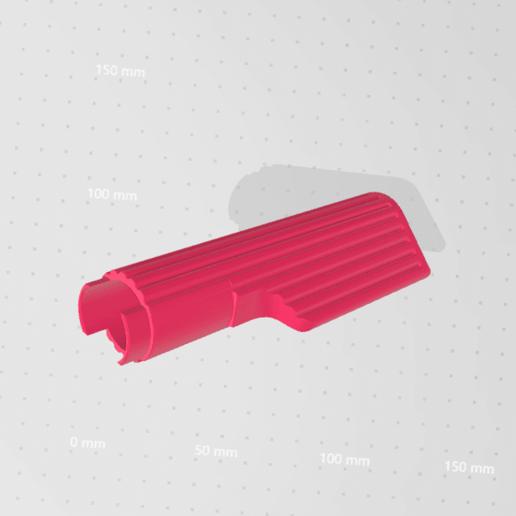 Download free STL file Handle Bar Grip (120mm) • Design to 3D print, Mashed_3D