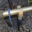 Download STL files safety cane carp holder, 3dseb