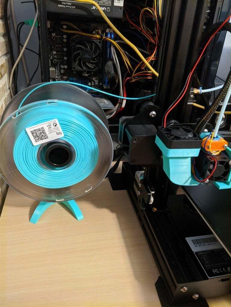 2.jpg Télécharger fichier STL gratuit Support de filament / Support universel de bobine de filament • Modèle pour impression 3D, ymagine