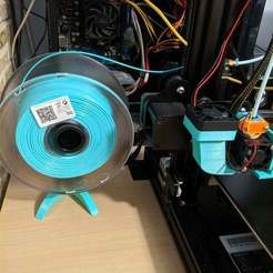 2.jpg Download free STL file Filament Support /Universal Filament Spool Holder • 3D printable design, ymagine