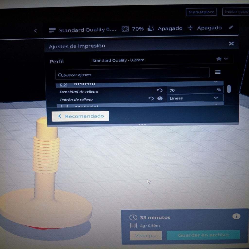 3.jpg Télécharger fichier STL gratuit Boulon de moustiquaire M5x0,8 • Objet imprimable en 3D, ymagine