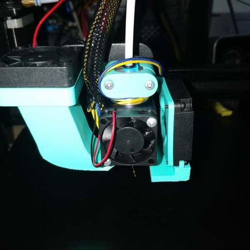 Download free 3D printing designs Simplair for Creality E3D V6 Hotend bowden mount, ymagine