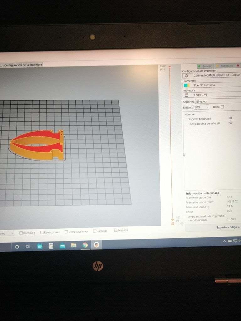 1.jpg Télécharger fichier STL gratuit Support de filament / Support universel de bobine de filament • Modèle pour impression 3D, ymagine