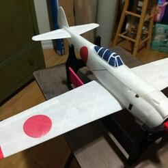 IMG_20210119_172730807.jpg Télécharger fichier STL Ki-84 Hayate (Frank) 600mm WW2 fighter • Design pour imprimante 3D, GonzoTheGreat