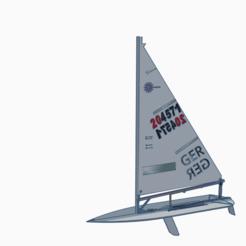 Laser sailboat.PNG Télécharger fichier STL Voilier laser • Modèle pour imprimante 3D, krestenregenthal