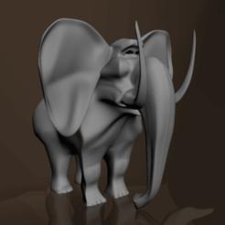 Download free STL file Elephant, edriverao