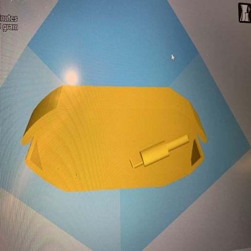 image2.jpeg Download free STL file Apple Earbuds Case #1 • 3D printable design, Volts24