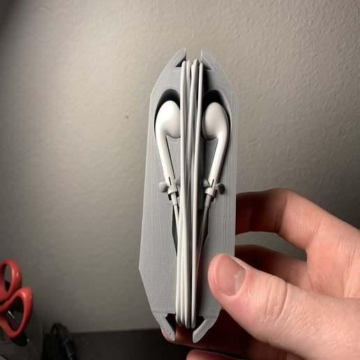 image0.jpeg Download free STL file Apple Earbuds Case #1 • 3D printable design, Volts24