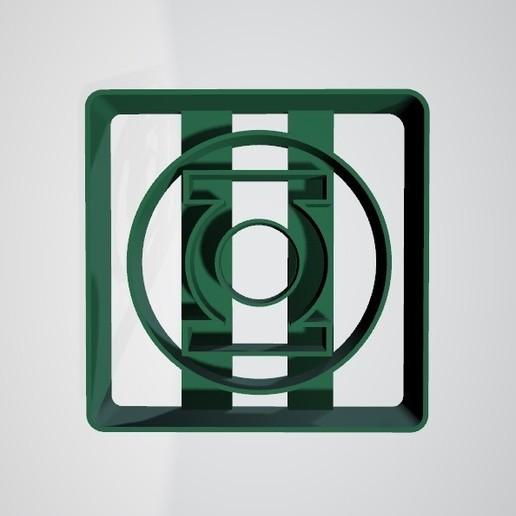 Linterna verde1.jpg Télécharger fichier STL gratuit Coupe-biscuits Lampe de poche verte • Objet pour impression 3D, insua_lucas