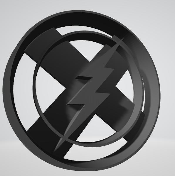 Flash1.png Télécharger fichier STL gratuit Découpeur de biscuits Flash • Modèle pour impression 3D, insua_lucas
