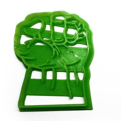Download free STL Cookie cutter hulk punch, insua_lucas