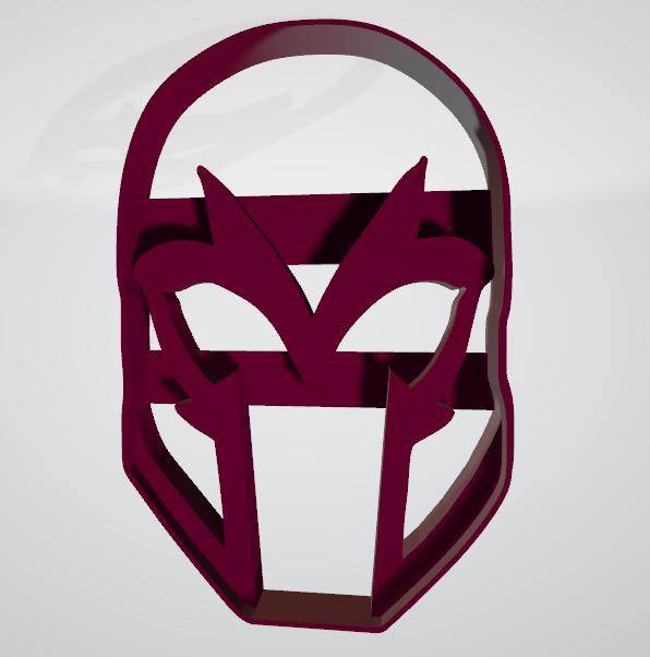 Casco de Magneto.png Télécharger fichier STL gratuit Coupe-biscuits pour casque magnétique • Objet imprimable en 3D, insua_lucas