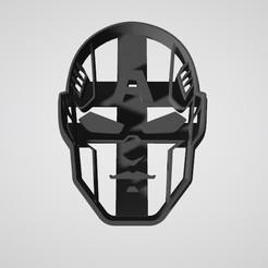 Télécharger modèle 3D gratuit Coupeur de biscuits Captain America Face, insua_lucas