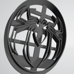 Download free 3D printing models Cookie cutter Spider-Man Spider, insua_lucas