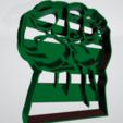 Puño de hulk.png Télécharger fichier STL gratuit Coupeur de biscuit hulk punch • Modèle pour imprimante 3D, insua_lucas