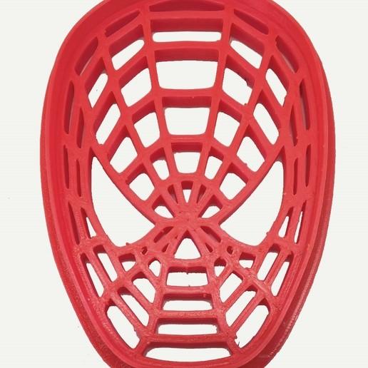Cara de Spiderman.jpg Télécharger fichier STL gratuit Découpeur de biscuits Spider-Man Face • Modèle pour imprimante 3D, insua_lucas