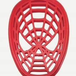 Cara de Spiderman.jpg Download free STL file Cookie cutter Spider-Man Face • 3D printing template, insua_lucas