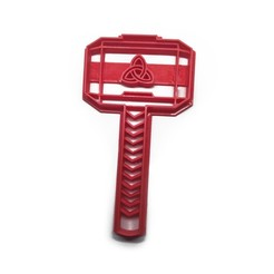 Download free 3D printing templates Cookie cutter Thor's Hammer, insua_lucas