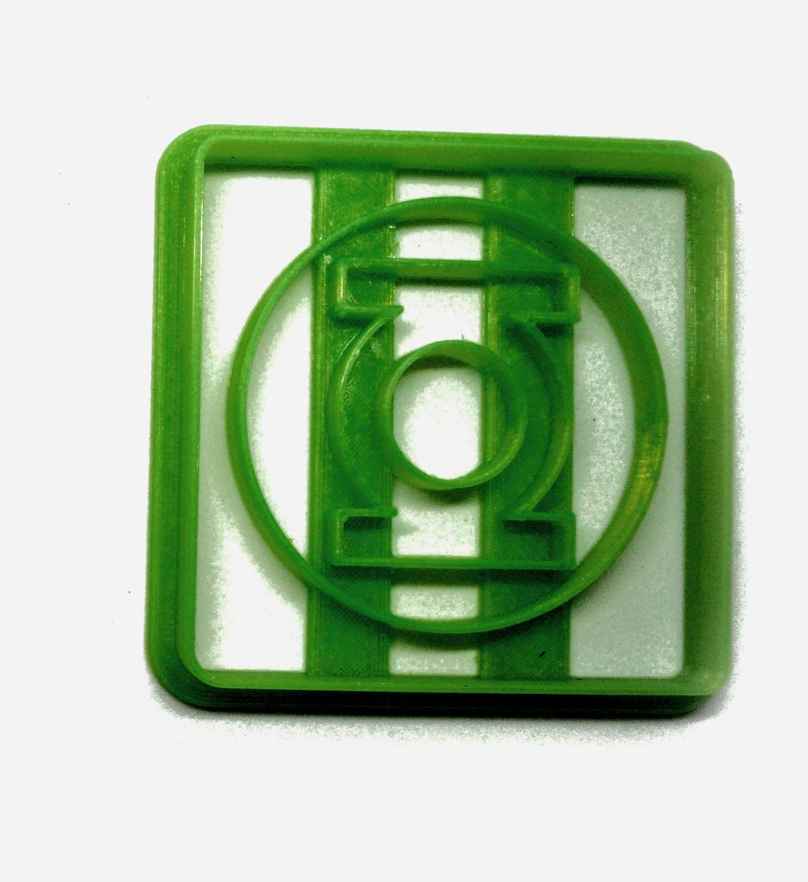 Linterna verde.jpg Télécharger fichier STL gratuit Coupe-biscuits Lampe de poche verte • Objet pour impression 3D, insua_lucas