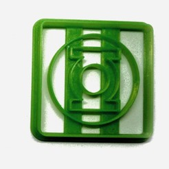 Download free 3D printing models Cookie cutter Green flashlight, insua_lucas