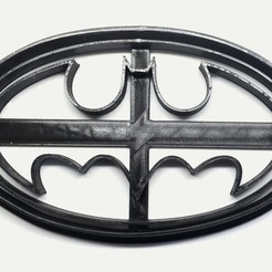 Download free STL file Cookie cutter Batman Logo, insua_lucas