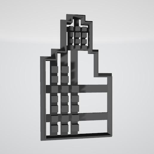 Edificio Batman1.jpg Télécharger fichier STL gratuit Bâtiment Cookie Batman • Design pour imprimante 3D, insua_lucas
