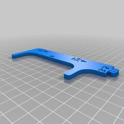 octopi_measuring_tool_bottom_half_v2.png Télécharger fichier STL gratuit Outil de mesure de la pieuvre au crochet • Plan à imprimer en 3D, mikejeffs