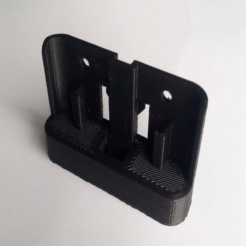 20150823_145314.jpg Download free STL file Replacement Dash Holder for EZI DAB Unit • 3D printing template, mikejeffs