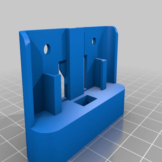 ezi_dab_holder_v1.png Download free STL file Replacement Dash Holder for EZI DAB Unit • 3D printing template, mikejeffs