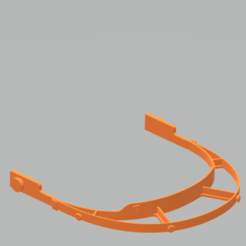 Download 3D printing designs Face shield whith elastic clip, crisand_07