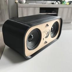 IMG_0041.jpg Download STL file Bluetooth speaker • Design to 3D print, aeronef