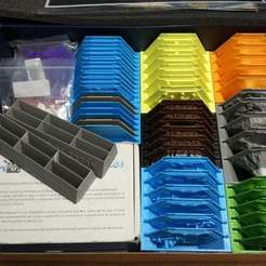IMG_20180904_191320.jpg Download free STL file Settlers of Catan Storage for 3d terrain pieces (6 players) • 3D printable object, anlosay