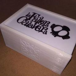 Imprimir en 3D gratis Caja Fallera Calavera (con fundas) + expansión, anlosay